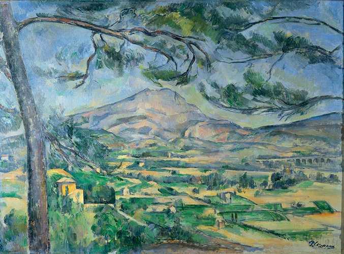 Sennelier y la paleta de Paul Cézanne 0