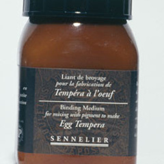 aglutinante para triturado tempera al huevo