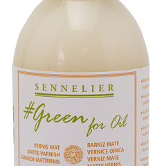 barniz mate green for oil